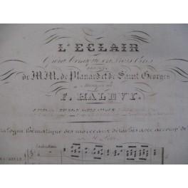 HALÉVY F. L'eclair chant piano 1837