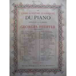 DUSSEK Jan Ladislav Canzonetta Piano 1879