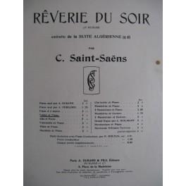 SAINT-SAËNS Camille Rêverie du Soir