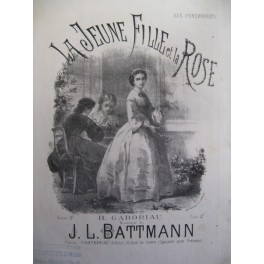 BATTMANN J. L. La Jeune Fille Chant Piano