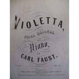 FAUST Carl Violetta Piano