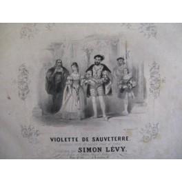 LÉVY Simon Violette de Sauveterre Piano