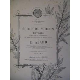 ALARD Delphin Ecole du Violon Méthode ca1895