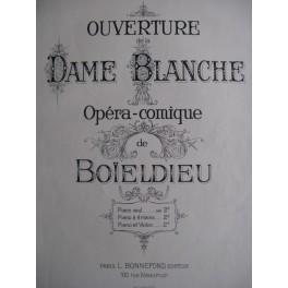 BOÏELDIEU Ouverture de la Dame Blanche