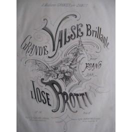 PROTTI José Grande Valse Brillante op. 14