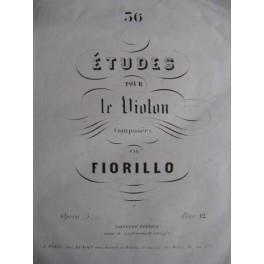 Fiorillo F. 36 Etudes Op. 3
