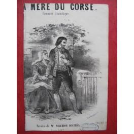 BOUCHER Julien La mère du Corse