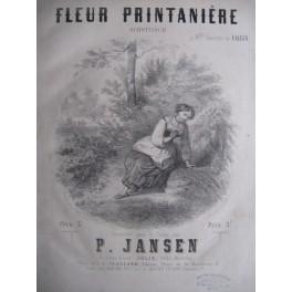 JANSEN P. Fleur Printanière