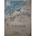 ROMAIN F. Concert dans le Feuillage Flute Piano