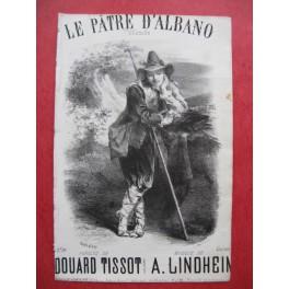 LINDHEIM Adolphe Le Pâtre d'Albano