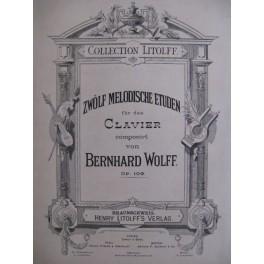 WOLFF Bernhard 12 Melodische Etuden