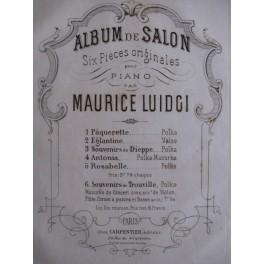 LUIDGI Maurice Souvenirs de Dieppe