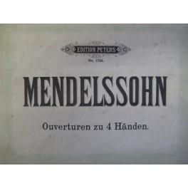 MENDELSSOHN BARTHOLDY Félix Ouvertures
