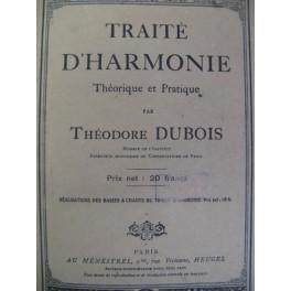 DUBOIS Théodore Traité d'Harmonie 1946