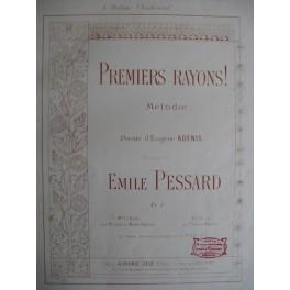 PESSARD Emile Premiers rayons !