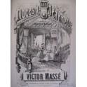 MASSÉ Victor Les Noces de Jeannette Opéra Piano Chant 1860
