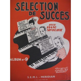 Selection de Succès pour Piano 1956