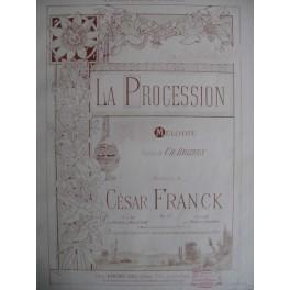 FRANCK César La Procession