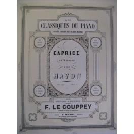 HAYDN Joseph Caprice op. 57 Piano 1855