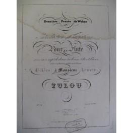 TULOU Jean-Louis Dernière Pensée Weber Flute ca1850