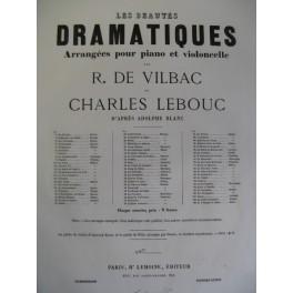 DE VILBAC LEBOUC La Juive Halévy Violon Piano ca1868