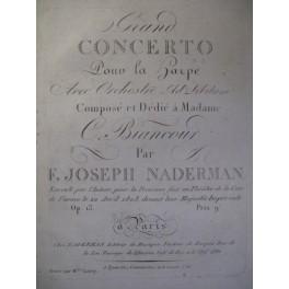 NADERMAN Joseph Grand Concerto Violon Alto Basse 1803