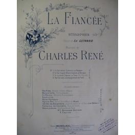 RENÉ Charles La Fiancée Strophes n° 2 1891