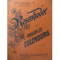 EULENBURG Ph. Rosenlieder Chant Piano 1888