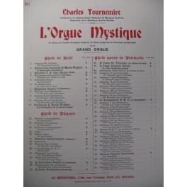 TOURNEMIRE Charles L'Orgue Mystique n°20 Orgue 1930