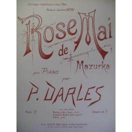 DARLES P. Rose de Mai Piano