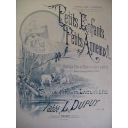 DUPUY L. Petits Enfants Chant Piano
