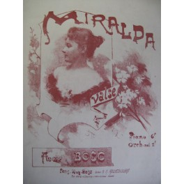 BOSC Auguste Miralda Piano XIXe