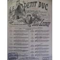 LECOCQ Charles Petit Duc n° 10 Chant Piano XIXe