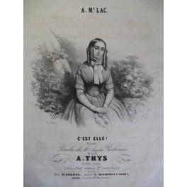 THYS A. C'est Elle ! Chant Piano ca1840