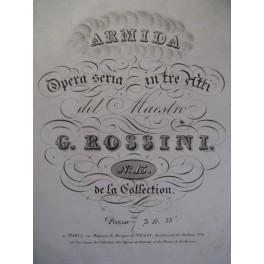 ROSSINI G. Armida Ouverture Piano ca1820