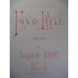 BOSC Auguste Fin de Rêve Violon Piano