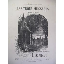 LIONNET Anatole Les Trois Hussards Chant Piano 1890
