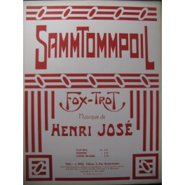 JOSÉ Henri Sammtommpoil Piano 1920