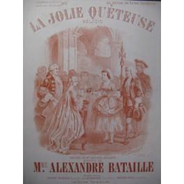 BATAILLE Alexandre Jolie Quéteuse Chant Piano ca1890