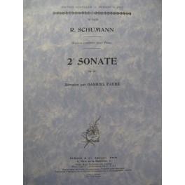SCHUMANN Robert 2e Sonate Piano 1951