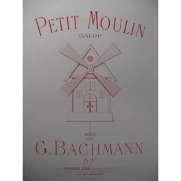 BACHMANN G. Petit Moulin Piano 1896