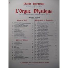 TOURNEMIRE Charles L'Orgue Mystique n°42 Orgue 1930