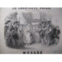 MUSARD La Chanteuse Voilée Piano ca1850