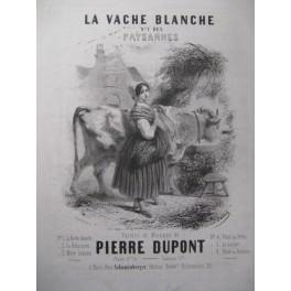 DUPONT Pierre Les Paysannes Chant Piano ca1850