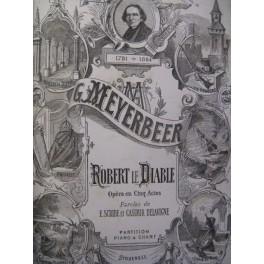 MEYERBEER G. Robert le Diable Opéra ca1853