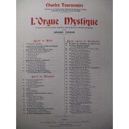 TOURNEMIRE Charles L'Orgue Mystique n°51 Orgue