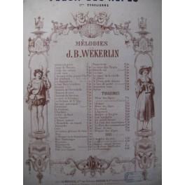 MÖLZEL Fleur des Alpes Tyrolienne Chant Piano ca1860