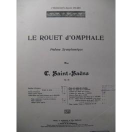 SAINT-SAËNS Camille Le Rouet d'Omphale Piano 1928