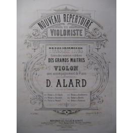 BEETHOVEN Andante con Variazioni Violon Piano 1878
