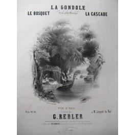 REDLER G. La Cascade Piano ca1845
